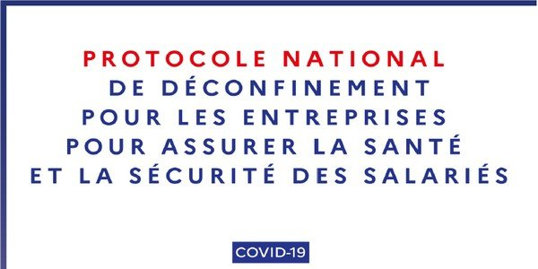 Protocole national de déconfinement : version du 24 Juin 2020